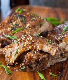 Korean Kalbi Baby Back Ribs - Steamy Kitchen Recipes