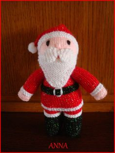 modele tricot gratuit pere noel