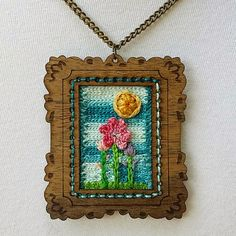 Stitch Story: Mixed Media and Another Use for Surface Crochet!