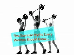 5 exercise myths - Important stuff to know!