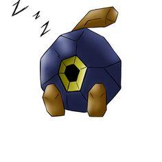 "Pokemon Roggenrola: named him ""Balboa"" after Rocky Balboa yo."
