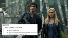 Bellarke + tumblr text posts | YES, YES YES!