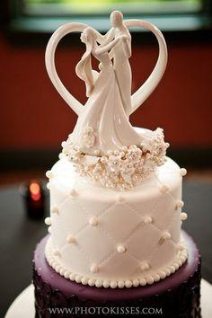 beautiful cake topper... couple dancing