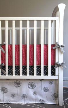 Complete Crib Bedding Set by NewYorkThreads on Etsy