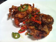 Crispy Soft Shell Crab with Garlic and Chillies