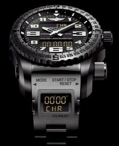"""After Years Of FCC Red Tape, The Potentially Life-Saving Breitling Emergency II Watch Arrives In US - see Ariel's piece on it over at Forbes """"On July 1st, 2015, Breitling was finally given approval to sell one of their most innovative products. @Breitling #Breitling #Luxury #LuxuryWatches #MensWatch #Watches #WristPorn #Fashion #style #LinkCuffs #ArgyleX"""