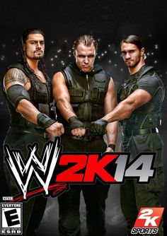 fan created wwe 2k14 cover #believeintheshield