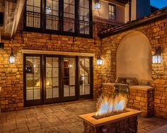 Tuscan Outdoor Patio