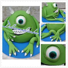 Tarta Monstruos SA Mike!!! Facebook dulcemielcake Dulcemielcake.blogspot.com
