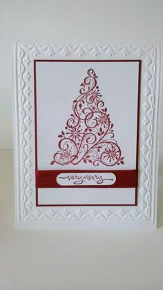 Countless Christmas Cards 2011 Snow Swirled