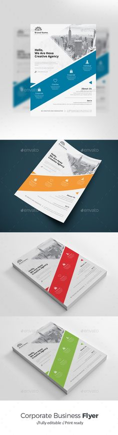 Flyer Template Vector EPS, AI Illustrator