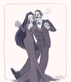 Loves most editions of the addams family but especially fond of the original Morticia and Gomez Morticia Addams, Gomez And Morticia, Los Addams, Poses, Charles Addams, Kubo And The Two Strings, Adams Family, The Addams Family, The Munsters