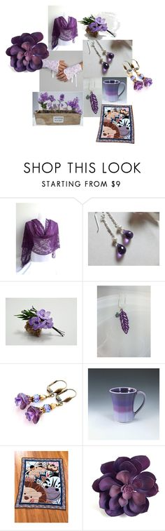 """Lady's Lavender"" by inspiredbyten on Polyvore"