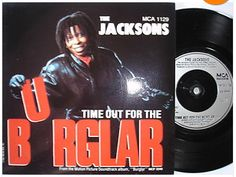 At £4.20  http://www.ebay.co.uk/itm/Jacksons-Time-Out-Burglar-MCA-Records-7-Single-MCA-1129-1987-/261098545169