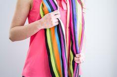 foulard infini collection été 2017 Lily Pulitzer, Collection, Fashion, Infinity Symbol, Headscarves, Stripes, Moda, Fashion Styles, Fashion Illustrations