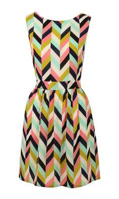 Arrow Your Boat Dress via ModCloth