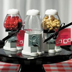 Classic Gumball Machine (Empty) - fill with your own favorite treat, for kids of all ages!