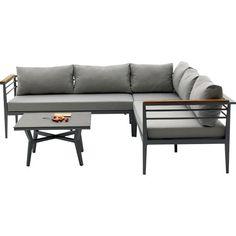 Brayden Studio® Agora Skyros Outdoor 3 Piece Deep Seating Group with Cushion