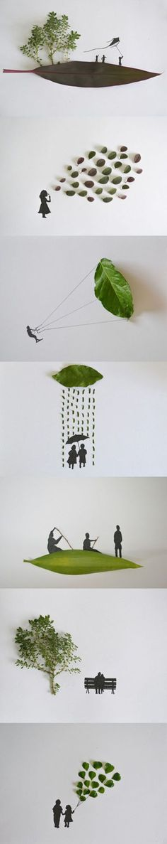This is one of my favourite piece of artwork. Children can create a lot of different pictures with a piece of http://leaf.it helps expand their imagination.