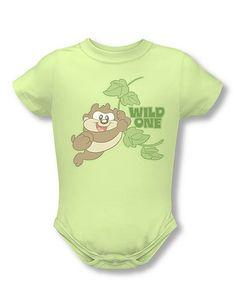 Looney Tunes Green  Wild One  Bodysuit - Infant d02939edae