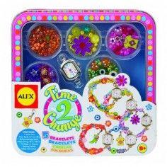 http://idealbebe.ro/alex-toys-kit-pentru-pedichiura-cu-papuci-de-casa-p-13957.html Alex Toys - Set Bratari pentru Ceas