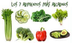 Alimentos Alcalinos - Buenisimos para la Salud!