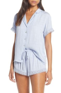 online shopping for Flora Nikrooz Laurel Short Pajamas from top store. See new offer for Flora Nikrooz Laurel Short Pajamas Pajamas For Teens, Summer Pajamas, Cute Pajamas, Women's Pajamas, Cute Sleepwear, Sleepwear Women, Sleepwear Sets, Pijamas Women, Womens Pyjama Sets