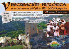 V RECREACIÓN HISTÓRICA EN EL CASTILLO DE ALCALA DEL JÚCAR SIGLO XIII Portal, Barbers, Castles, History
