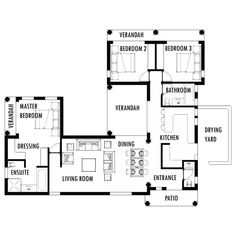 3 Bedroom Tuscan House Plan South Africa Ideas for the House