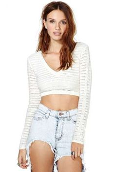 Marcelle Crop Knit