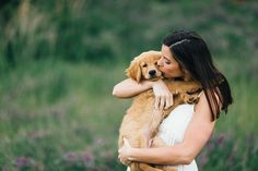 Engagement Photos with a Puppy | Erin Morrison Photography www.erinmorrisonphotography.com