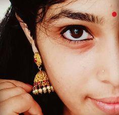 Beautiful Girl In India, Beautiful Indian Actress, Beautiful Eyes, Indian Long Hair Braid, Braids For Long Hair, Girl Pictures, Girl Photos, Teen Girl Photography, Close Up Faces