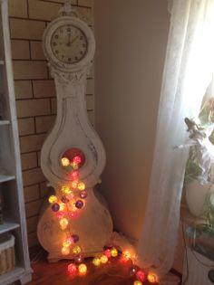 Mora clock and Cotton Light Balls