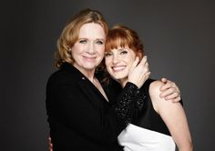 Liv Ullmann and Jessica Chastain