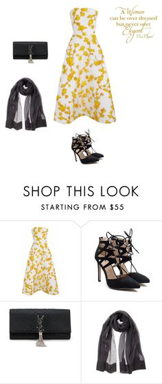 """""""Senza titolo #759"""" by francy78 on Polyvore featuring moda, The 2nd Skin Co., Yves Saint Laurent e Chanel"""