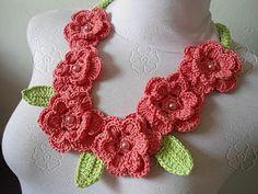 Miss Croche Flower: Necklaces