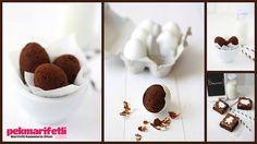 Yumurta kabuğunda browni kek yapımı ;) | Mutfak | Pek Marifetli!