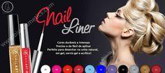 Novidade Biu: Nail Liner por apenas 3,50€! Visite-nos em www.Biucosmetics.pt  #nailartaddict #nailartclub #nailliner #nails #Biucosmetics