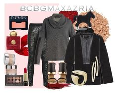 The Art of Chic with BCBGMAXAZRIA: Contest Entry by tzortziadel on Polyvore featuring polyvore, fashion, style, BCBGMAXAZRIA, Lime Crime, Illamasqua, NARS Cosmetics, Chantecaille, Forever 21, Urban Decay and Lancôme
