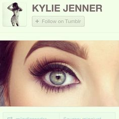 she does stunning eye makeup tutorials...