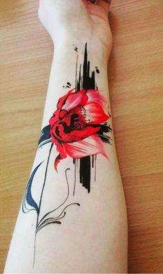 20+ Trash Polka Cute Tattoo Designs