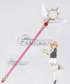 Costume Props Anime Cardcaptor Sakura Card Captor Sakura Birdhead Star Magic Stick Wand Staves Cosplay Accessorie Porp Numerous In Variety Novelty & Special Use