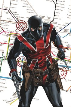 Captain Marvel Comic Book | Marvel Comics has sent us a sneak peak of Union Jack #1, by Ed ...