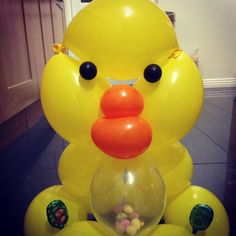 Easter balloon chick!