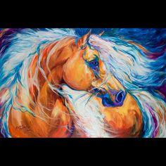 amazing horse painting