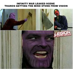 Infinity war leaked scene