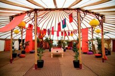 Ultimate Guide To Wedding Tents, Marquees, Yurts, Tipis | Bridal Musings Wedding Blog 13