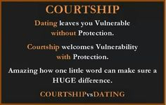 Courting dating difference