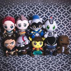 God of War Ratchet & Clank Fallout stubbins hry, oblečenie a predmety God Of War, Ratchet, Drake, Plush, Halloween, Decor, Dekoration, Decoration, Dekorasyon