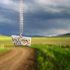 I love Montana necklace by Montana Silversmiths.  Thanks Erin D for sharing your photo with us.
